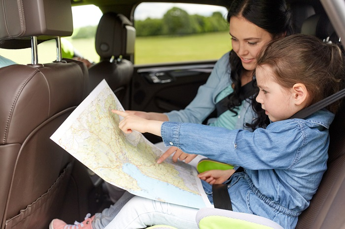 car journeys with kids
